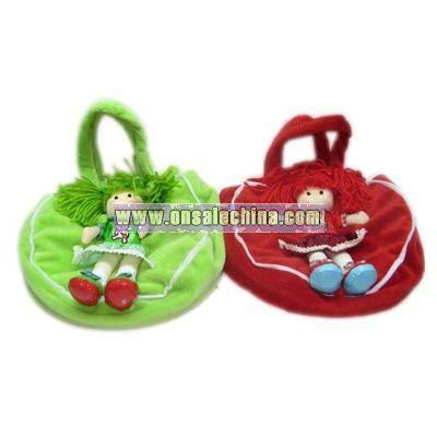 Plush Handbag