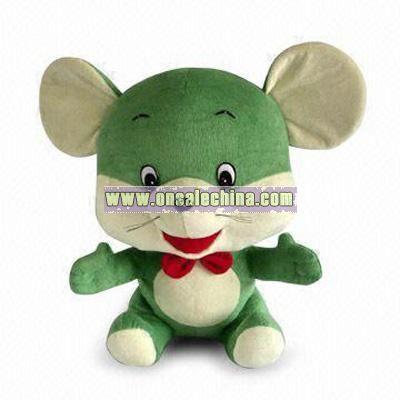Lovely Sitting Mouse Plush Toy
