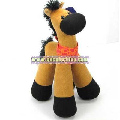 sound plush horse