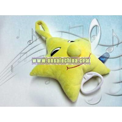 Music Stuffed Star