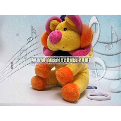 Music Stuffed Lion