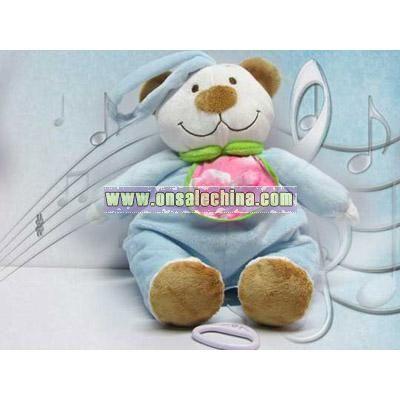 Music Stuffed Bear