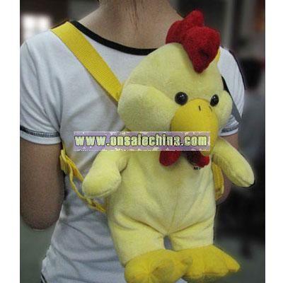 Stuffed Chicken Backpack