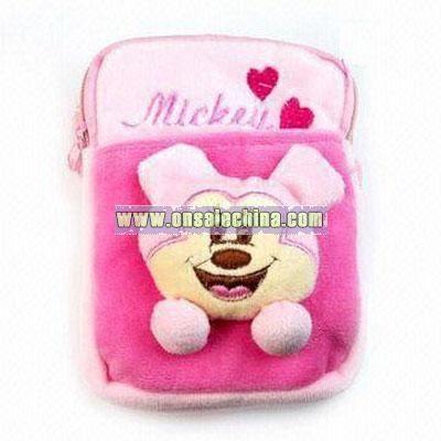 Plush Mobile Phone Bag