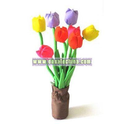 Plush Tulips