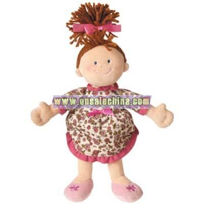 Plush Doll with Dressing