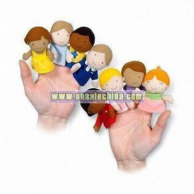 Plush Finger Puppets