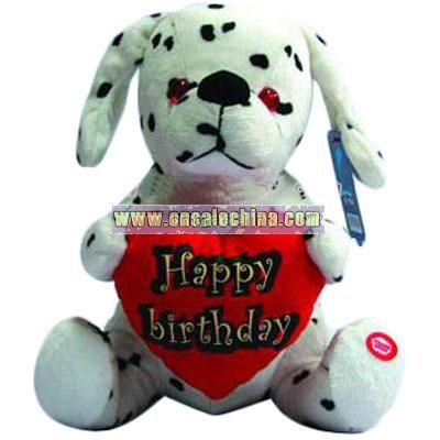 Birthday Gift Stuffed Spot dog