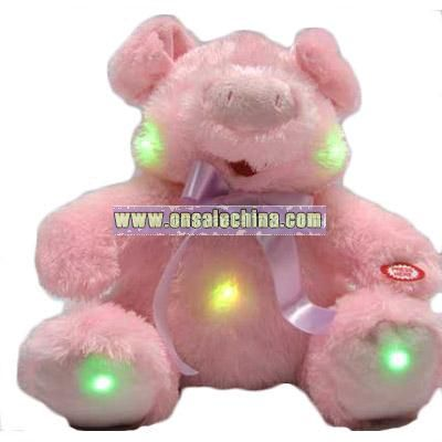 Stuffed Flash Pig