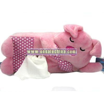 Plush Tissue Case