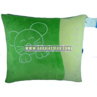 Square Shape Plush Pillow
