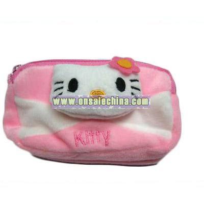 Plush Kitty Mobile or Key Holder