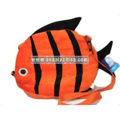 Plush Fish Bag