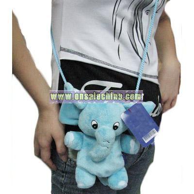 Stuffed Satchel elephant