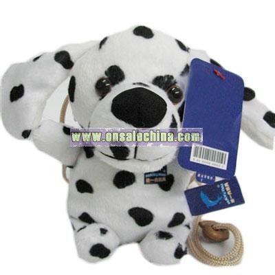 Plush Satchel spot dog