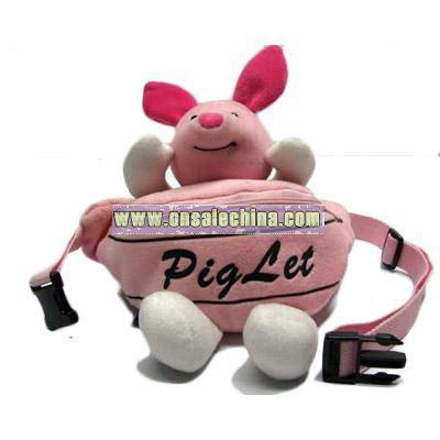 Plush Waist Bag Piglet