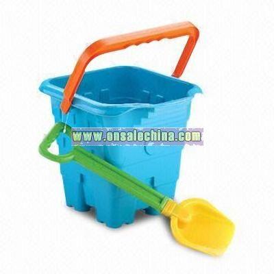 Beach Shovel and Bucket Set