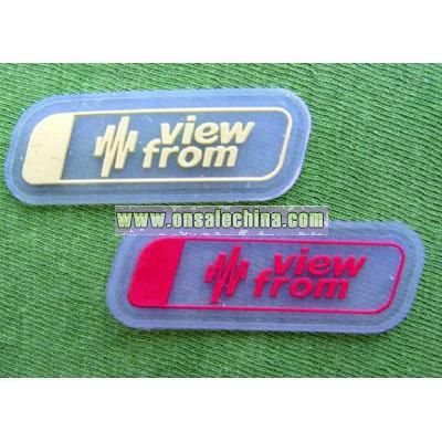 Silicone / PVC Labels