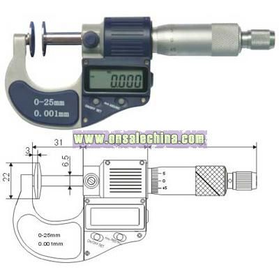 Dual Point Digital Micrometers
