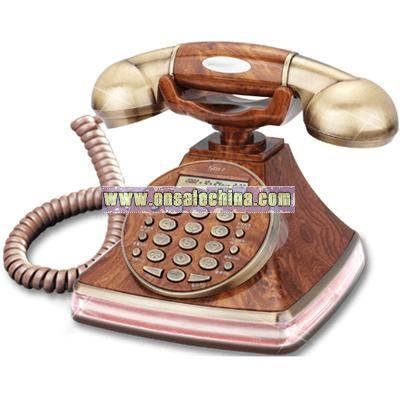 Modeled after an antique Telephone