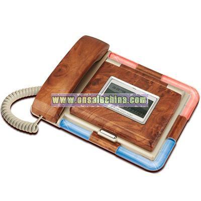 Dual LCD Telephone