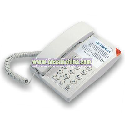 1-Line Economy Guestroom Telephone