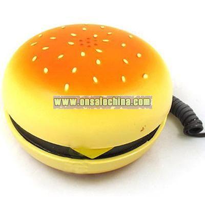 Novelty Hamburger Telephone