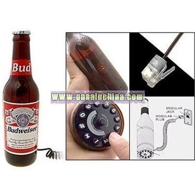 Beer Bottle Telephone
