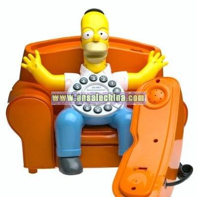 America Simpsons Annimated Phone