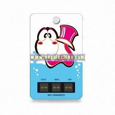 Bath Thermometer with Impressive Shapes and Designs