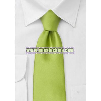 Bright Green Kids Tie