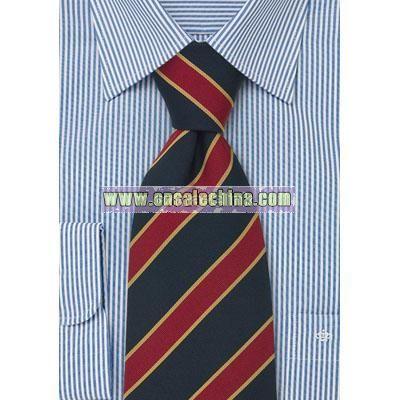 British Striped Ties