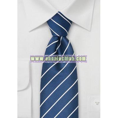Sapphire blue Silk Neckties