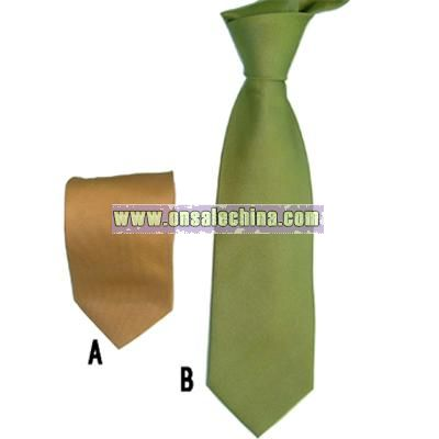 polyester woven tie