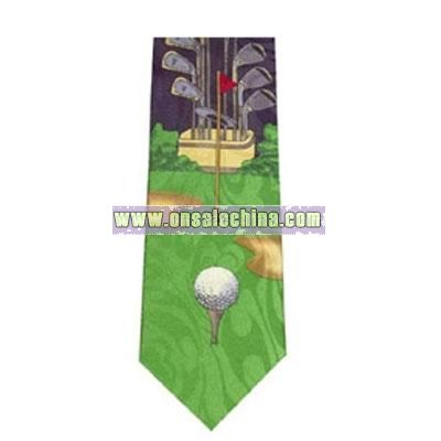 Glof cartoon tie