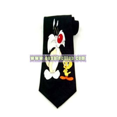 cartoon necktie