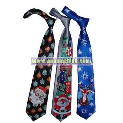 Christmas Necktie