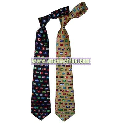 Flag Necktie
