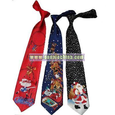 Christmas Music and Light tie
