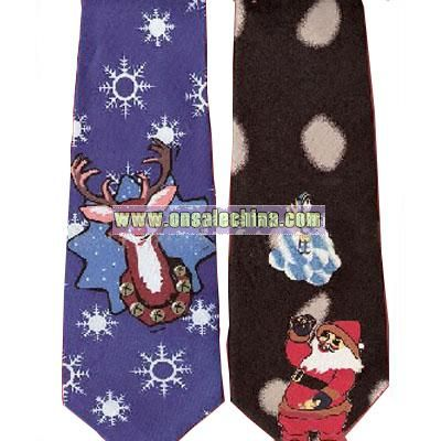 Christmas Music tie and Two Light