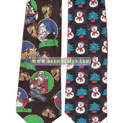 Christmas Music tie With Two Light