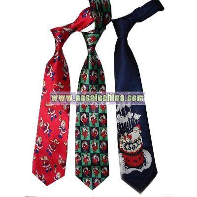 Christmas Music tie