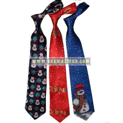 Christmas Music and Light Necktie