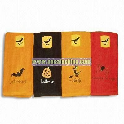 Kitchen Towel Set with Embroidery