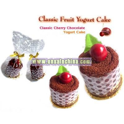 Cherry Classic Cake Towel