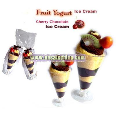 Ice Cream Cake Towel