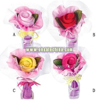 Promotional Towel Flower