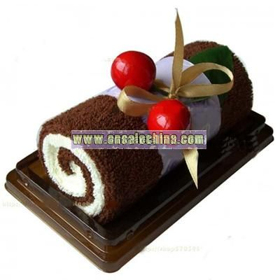 Promotion gift towel cake