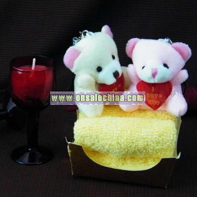 Cute Promotional Business Gift Cake Towel