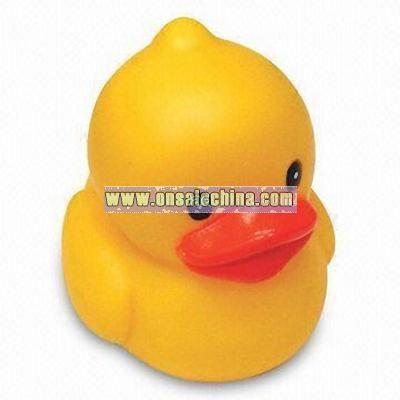 Promotional bath toy duck